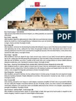 8D7N Golden Triangle Khajuraho Varanasi Star Copy 31 October 2018