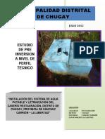 Instalación Del Sistema de Agua Potable y Letrnización Del Caserío Restauración