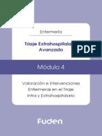 4. Triaje Extrahospitalario Avanzado