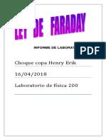 Ley de Fara Day Informe