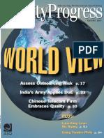 Quality Progress Magazine (April-2007)