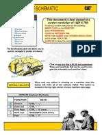 diagrama hidráulico 416D caterpillar serie bkg bkg