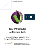 Serv-U Distributed Architecture