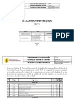Catalogo de Asignaturas 2017-i 26.06.2017