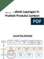M11 Praktek Lapangan II_Praktek Produksi Jamban
