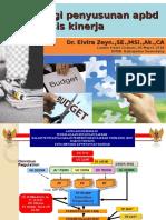 Strategi Penyusunan APBD Berbasis Kinerja