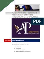 Présentation Altior Partners
