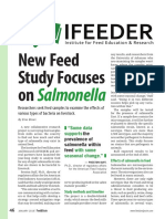 Salmonella Feed Study, January 2018 Feed and Grain by Elise Brown