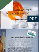 Intoxicatia Acuta Cu Acid Acetilsalicilic