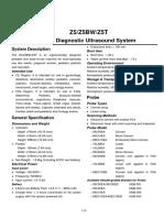 Z5 MINDRAY DATASHEET