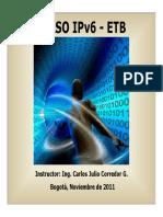 Capacitación IPV6 2011_V3