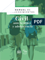 Manual de Procedimiento - Civil Ante La Ninez