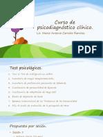 Curso de Psicodiagnóstico Clínico