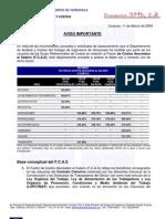 Import an CIA Del Fcas 2009