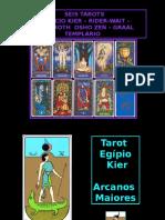 Tarô Egípcio, Rider Wait, Sephirot, Osho Zen, Graal