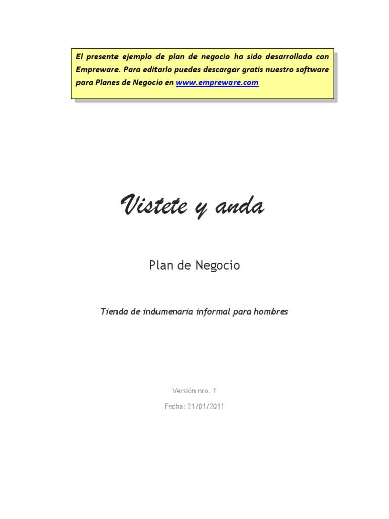 ejemplo negocio estudio economico pdf
