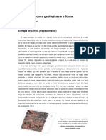 15. Mapas, Secciones Geológicas e Informe