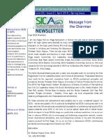 SICA Newsletter April 2018