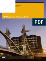 MDM Syndicator Reference Guide