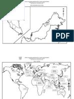 Peta Malaysia Dan Peta Dunia