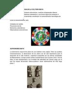 Ciencia y Tecnologia en La Cultura Maya