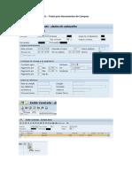 SAP - STXL - Textos Para Documentos de Compras