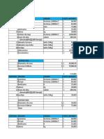 ganaderia Costos de producción,proyección,flujo