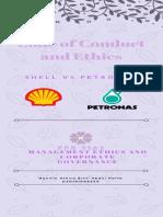 Code of Conduct Shell vs Petronas