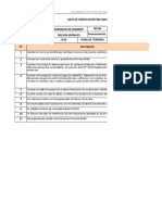 32. Lista de Verificación Declaración de Impacto Ambiental