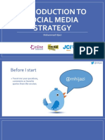 Introduction to Social Media Strategy
