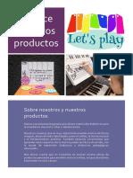 Folleto Productos Let'Splay Abril18