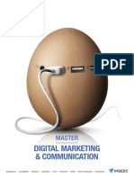 Master Digital Marketing Et Communication Brochure