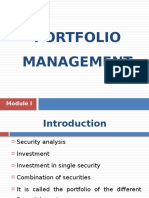 PM Module I (Introduction)