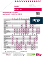 Orleans - Vierzon - Argenton - (Limoges) Du 24-04-2018