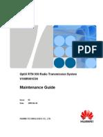 Maintenance Guide(V100R001C00 02)