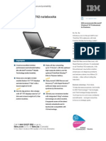 IBM ThinkPad T42 Specifications