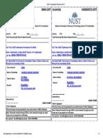 NUST Postgraduate Admissions-2018