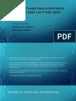5.2.2 Utilización de Sotware Para El Manejo y Control de Inventarios