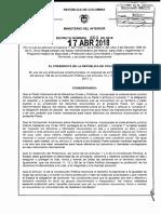 D-660-18-Programa Integral de Seguridad y Protección para Comunidades y Organizaciones en los Territorios (1)