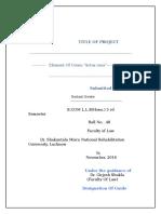 Actus Reus Project.doc 2