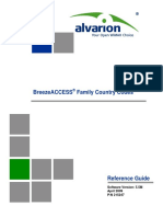 BreezeACCESS Family Country Codes 090602