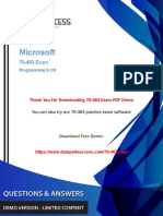 [Updated 2018] 70-483 Dumps - Microsoft Programming in C# Exam Questions.pdf