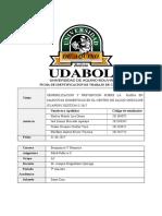 Sensibilizacion y Prevencion Sobre La Rabia en Mascotas Domesticas en El Centro de Salud Onduline Guapuru Gestion-II 2017
