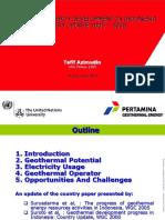 Geothermal Review (Pertamina)