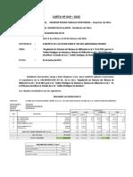 Informe Ingeniero Residente