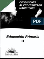 Tema 6  oposiciones maestros primaria