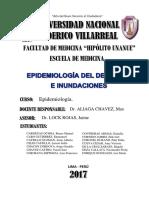Epidemiologia Del Desastre e Inundaciones