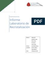 Recristalizacion