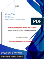 Updated N10-007 Dumps PDF - CompTIA Network+ N10-007 Exam Question.pdf