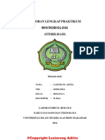 Laporan Praktikum Mikrobiologi Sterilisa